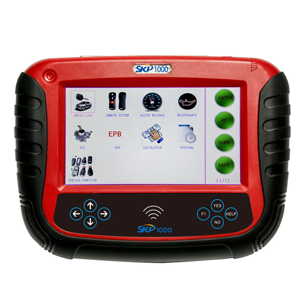 V8.19 SKP1000 Tablet Auto Key Programmer A Must Tool for All Locksmiths